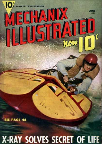 Mechanix Illustrated - 6-1939