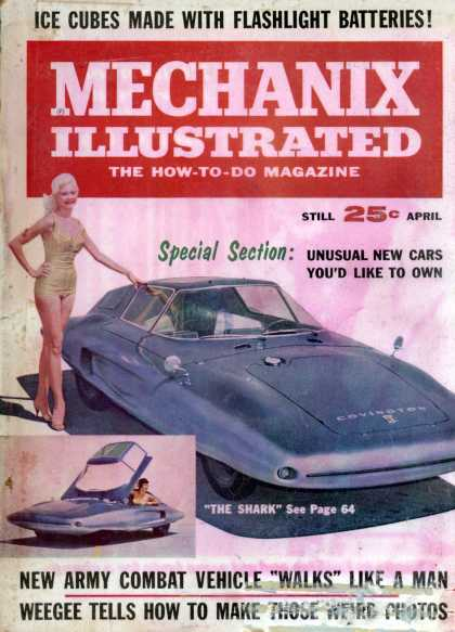 Mechanix Illustrated - 4-1962