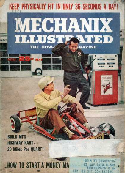 Mechanix Illustrated - 5-1962