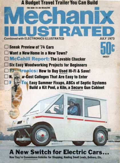 Mechanix Illustrated - 7-1973