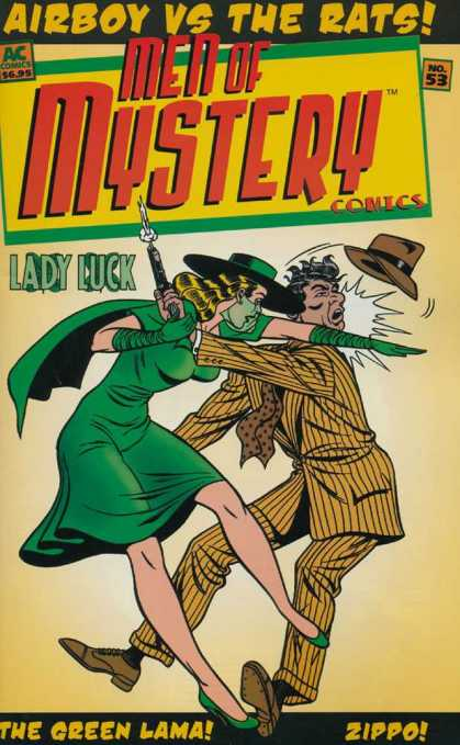 Men of Mystery 53 - Airboy Vs The Rats - Men Of Mystery Comics - Ac Comics - Lady Luck - The Green Lama