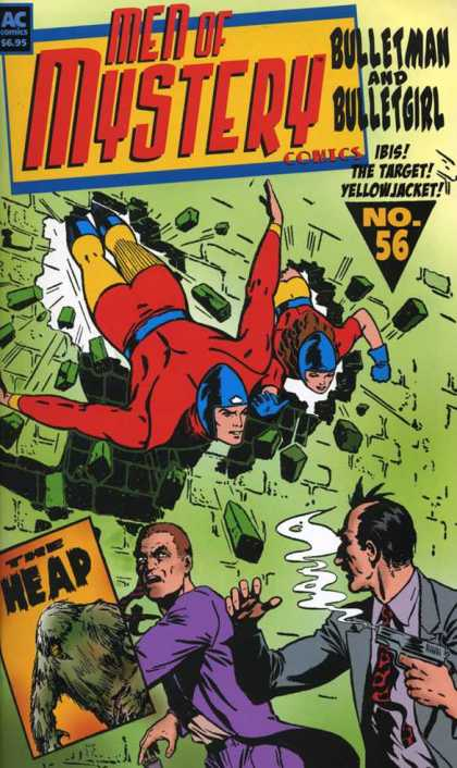 Men of Mystery 56 - Bulletman And Bulletgirl - Ibis - The Target - Yellowjacket - The Heap