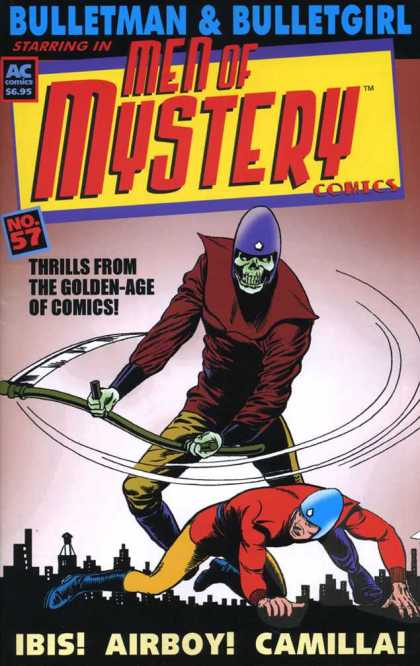 Men of Mystery 57 - Men - Mystery - Bulletman - Bulletgirl - Sythe