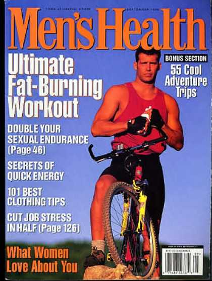Men's Health - September 1996