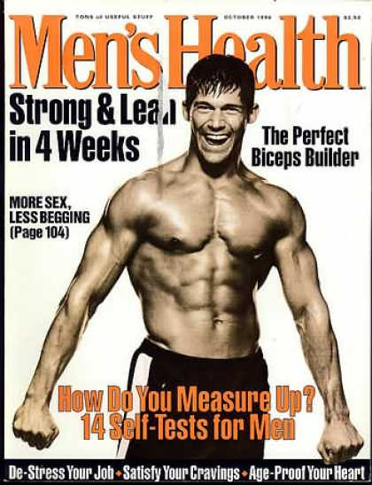 Men's Health - October 1996