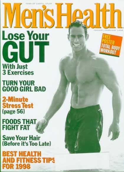 Men's Health - January 1998