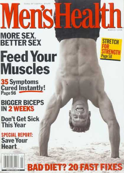 Men's Health - March 1998