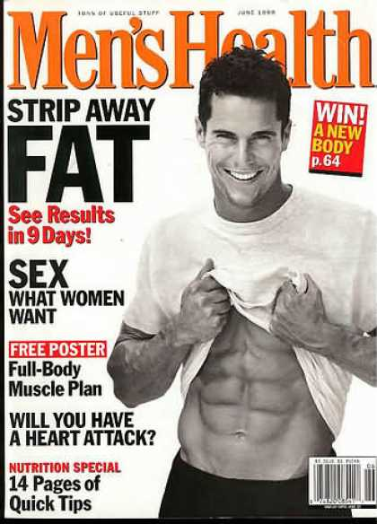 Men's Health - June 1998
