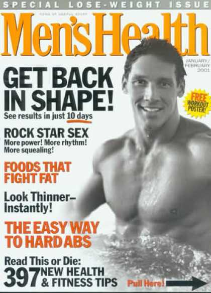 Men's Health - January 2001