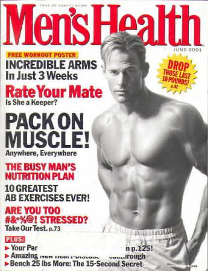 Men's Health - June 2001