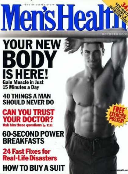 Men's Health - October 2001