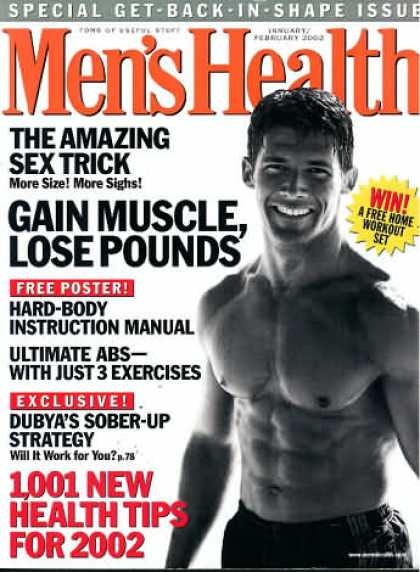 Men's Health - January 2002