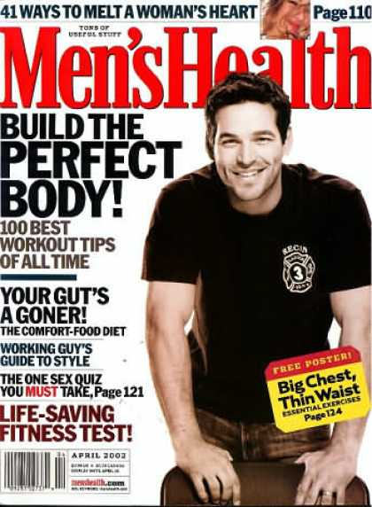 Men's Health - April 2002