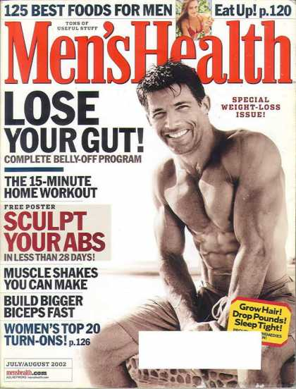 Men's Health - July 2002