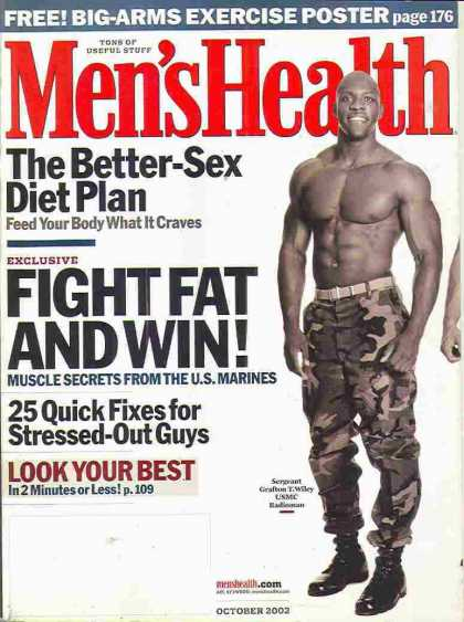 Men's Health - October 2002