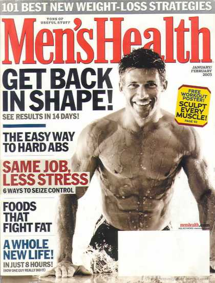 Men's Health - January 2003