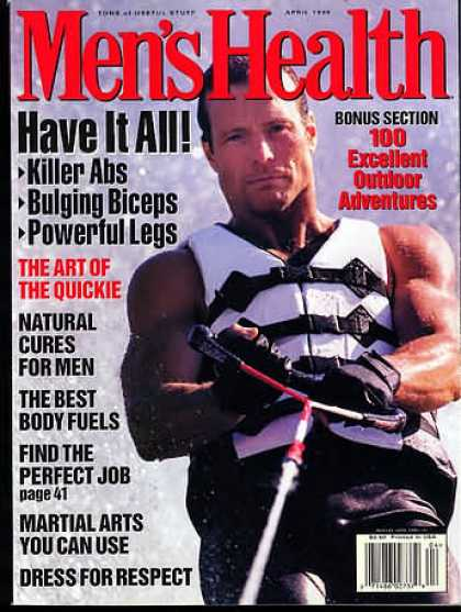 Men's Health - April 1996