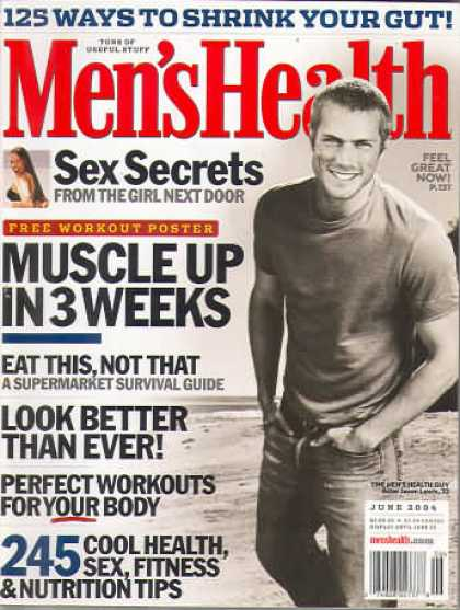 Men's Health - June 2004