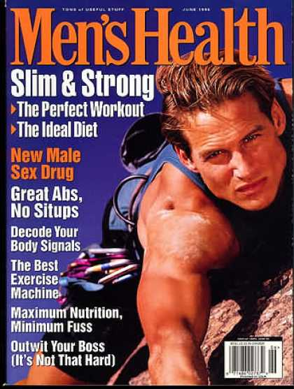 Men's Health - June 1996