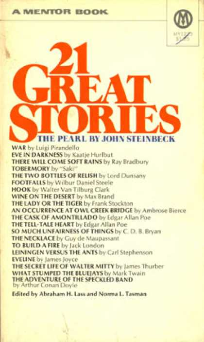 Mentor Books - 21 Great Stories
