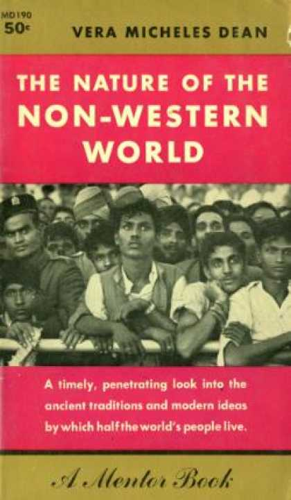 Mentor Books - The Nature of the Non-western World - Vera Micheles Dean