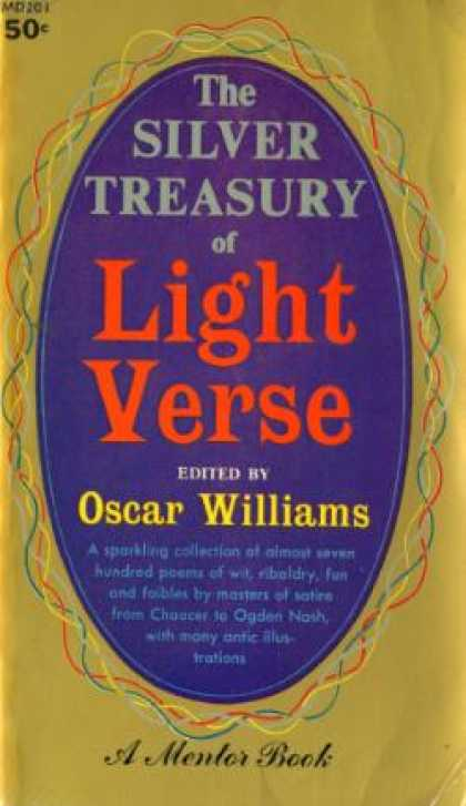 Mentor Books - The Silver Treasury of Light Verse