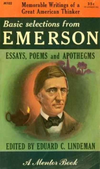 Mentor Books - Basic Selections From Emerson: Essays, Poems and Apothegms