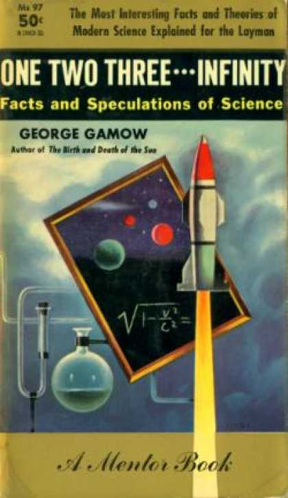 Mentor Books - One Two Three Infinity - George Gamow