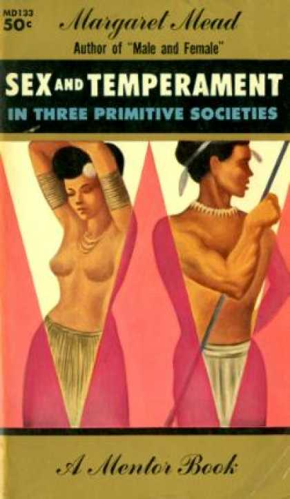 Mentor Books - Sex and Temperament In Three Primitive Societies - Margaret Mead