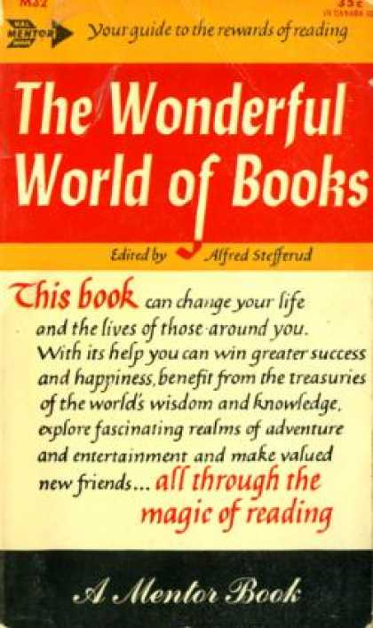 Mentor Books - The Wonderful World of Books - Alfred Stefferud