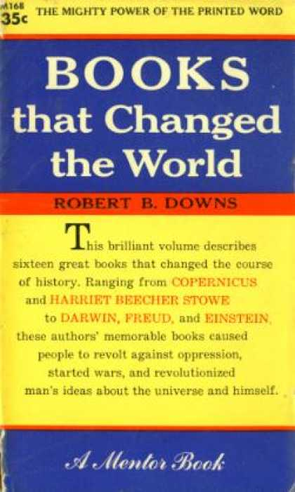 Mentor Books - Books That Changed the World