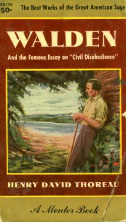 Mentor Books - Walden and Civil Disobedience