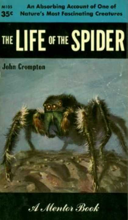 Mentor Books - The Life of the Spider - John Crompton