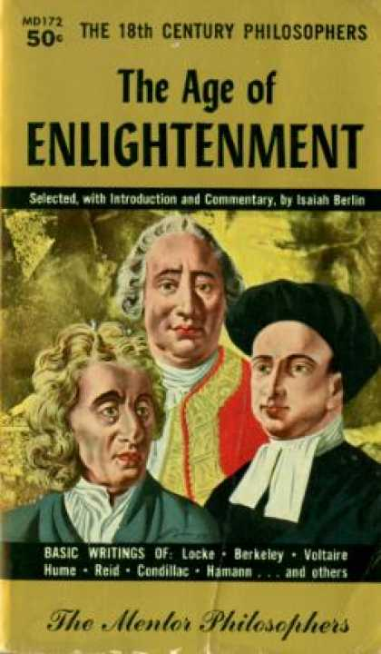Mentor Books - The Age of Enlightenment: The 18th Century Philosophers - Isaiah Berlin