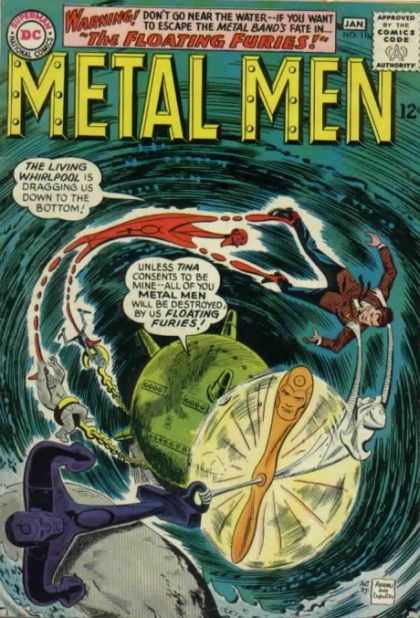 Metal Men 11 - Ross Andru