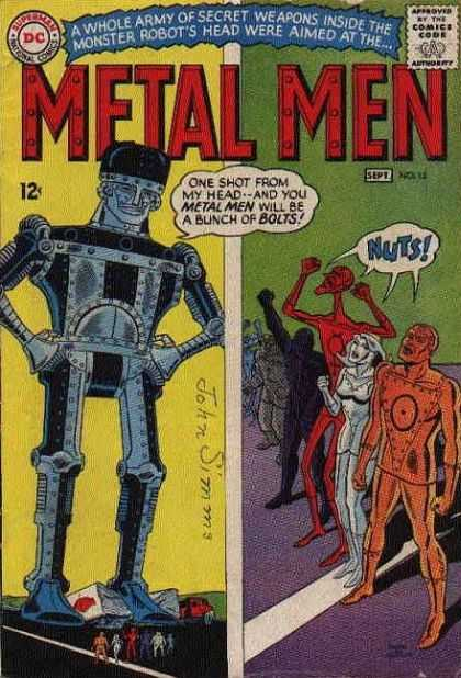Metal Men 15 - Ross Andru