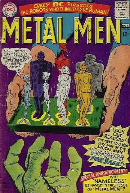 Metal Men 16 - Ross Andru