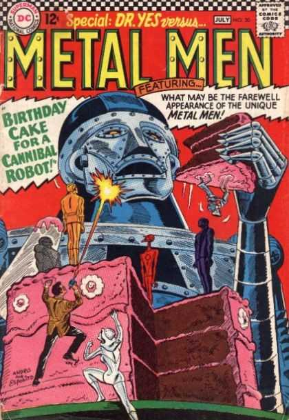 Metal Men 20 - Ross Andru