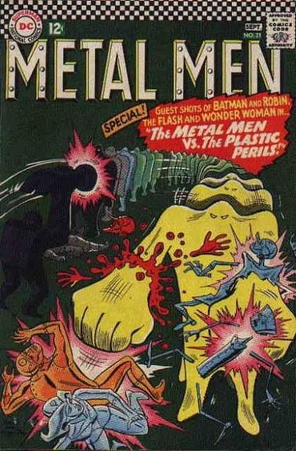 Metal Men 21 - Ross Andru
