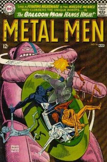 Metal Men 24 - Ross Andru