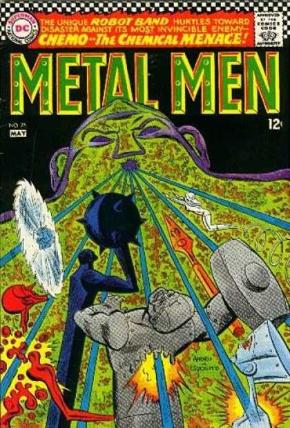 Metal Men 25 - Ross Andru