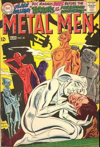 Metal Men 30 - Dc Comics - Flash - Doc Magnus - Terrors - Forbidden Dimension - Ross Andru