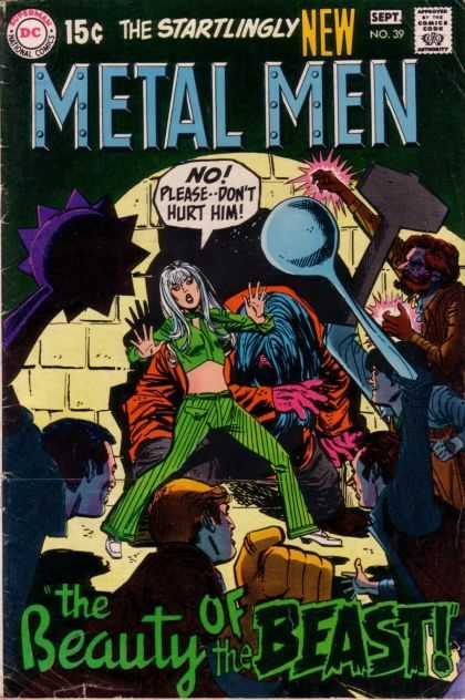 Metal Men 39 - Beast - Monster - Metal - Spoon - Girl