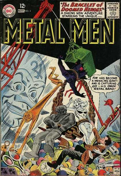 Metal Men 4 - Dan Jurgens, Ross Andru