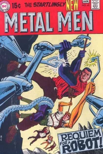 Metal Men 41 - Metal - Men - Attack - Metal Attack - Metal Men Adventures