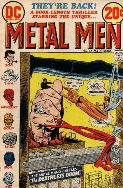Metal Men 42 - Ross Andru