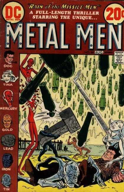 Metal Men 44 - Doc - Tina - Mercury - August - Dc - Ross Andru