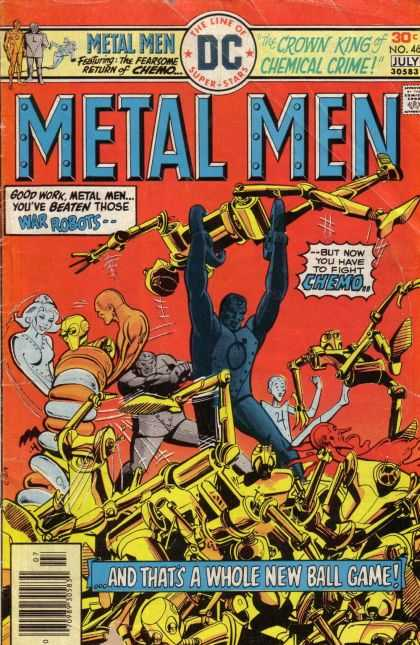 Metal Men 46 - Dc - Dc Comics - War Robot - Chemical Crime - Crownn King - Dick Giordano