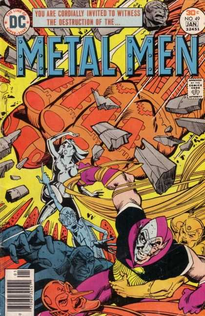 Metal Men 49 - Walter Simonson