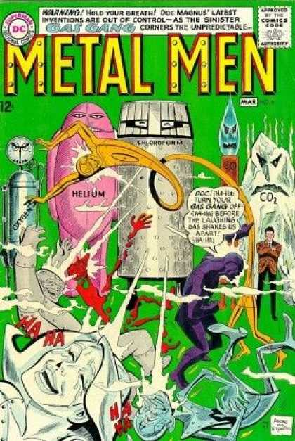 Metal Men 6 - Duncan Rouleau, Ross Andru